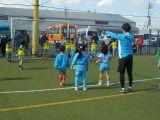 体育参観サッカー